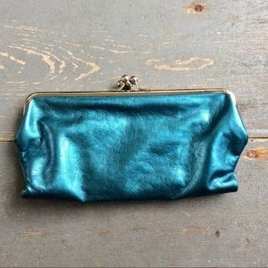 Handbags - EUC Beautiful Teal Special Wallet WOW!